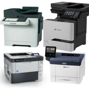 Desktop MFPs and Printers